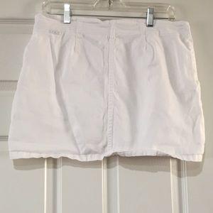 jordache Shorts - White Jordache Jean Skort
